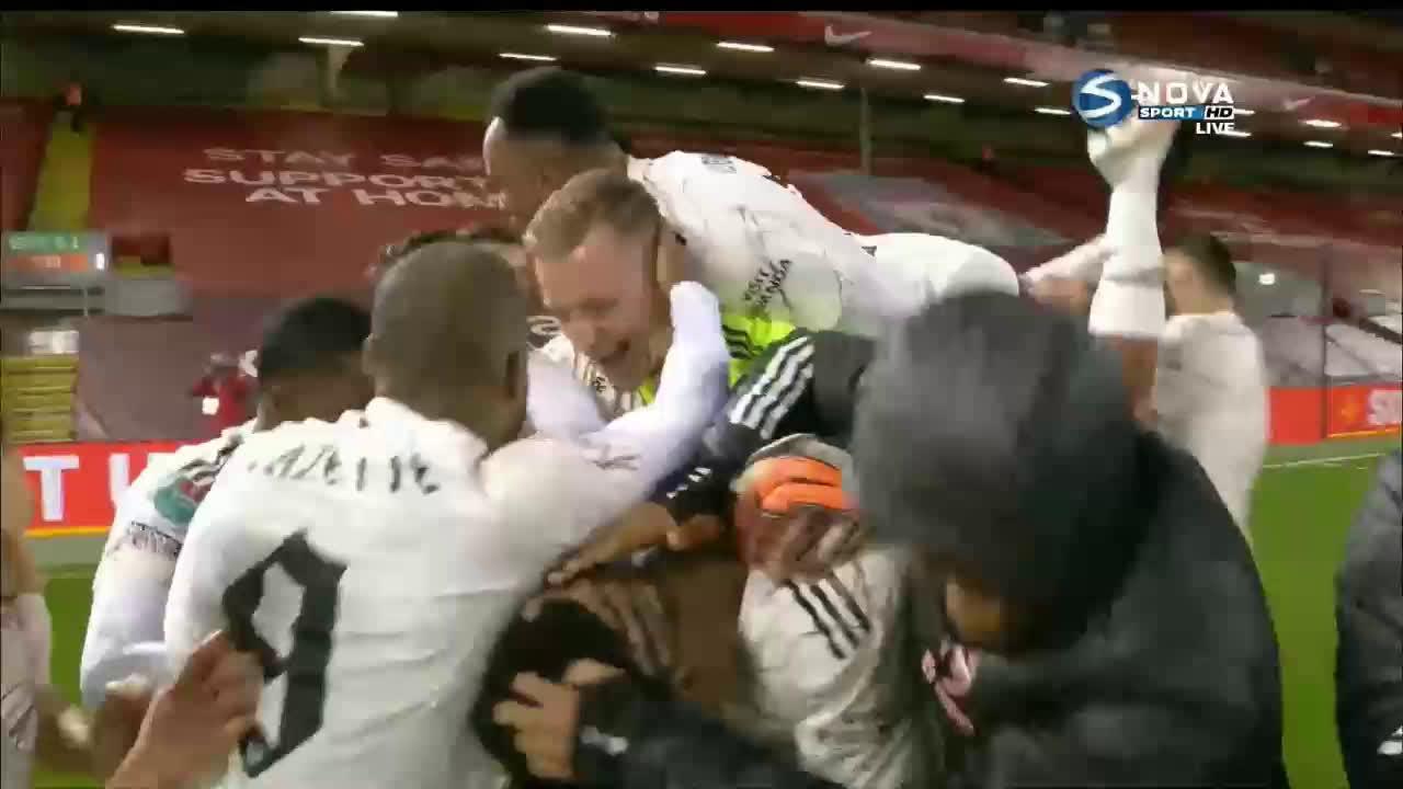 Ливърпул - Арсенал 0:0 /4:5 дузпи/ /репортаж/