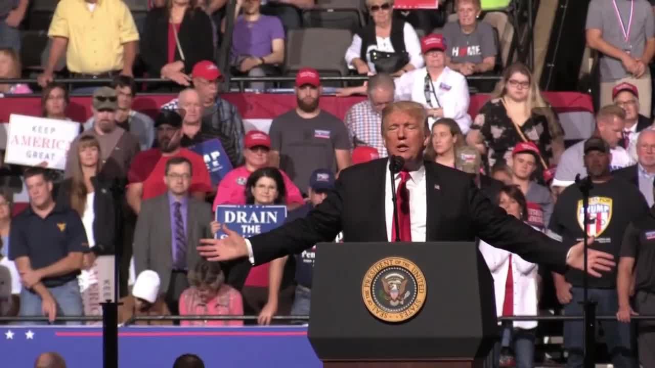 USA: Trump rants at \'horrible radical group of Democrats\' for derailing Kavanaugh