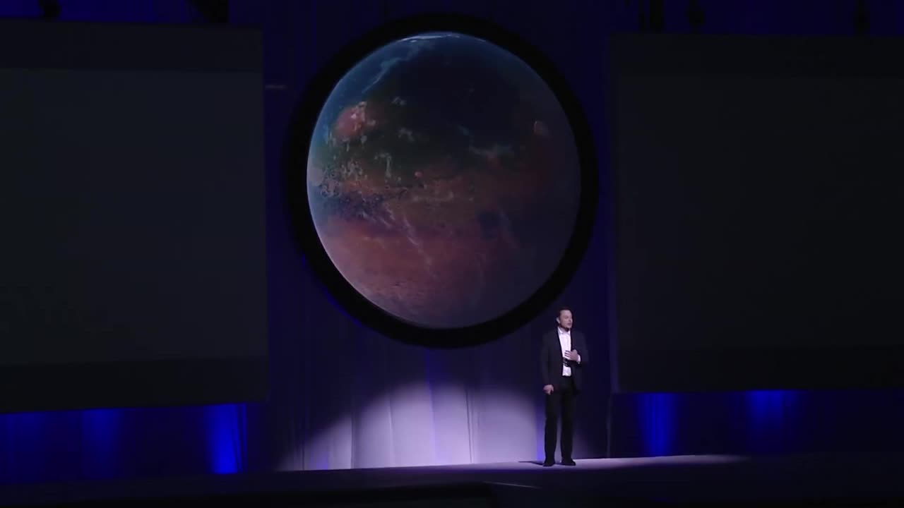 Mexico: Elon Musk presents his Mars colonisation plan