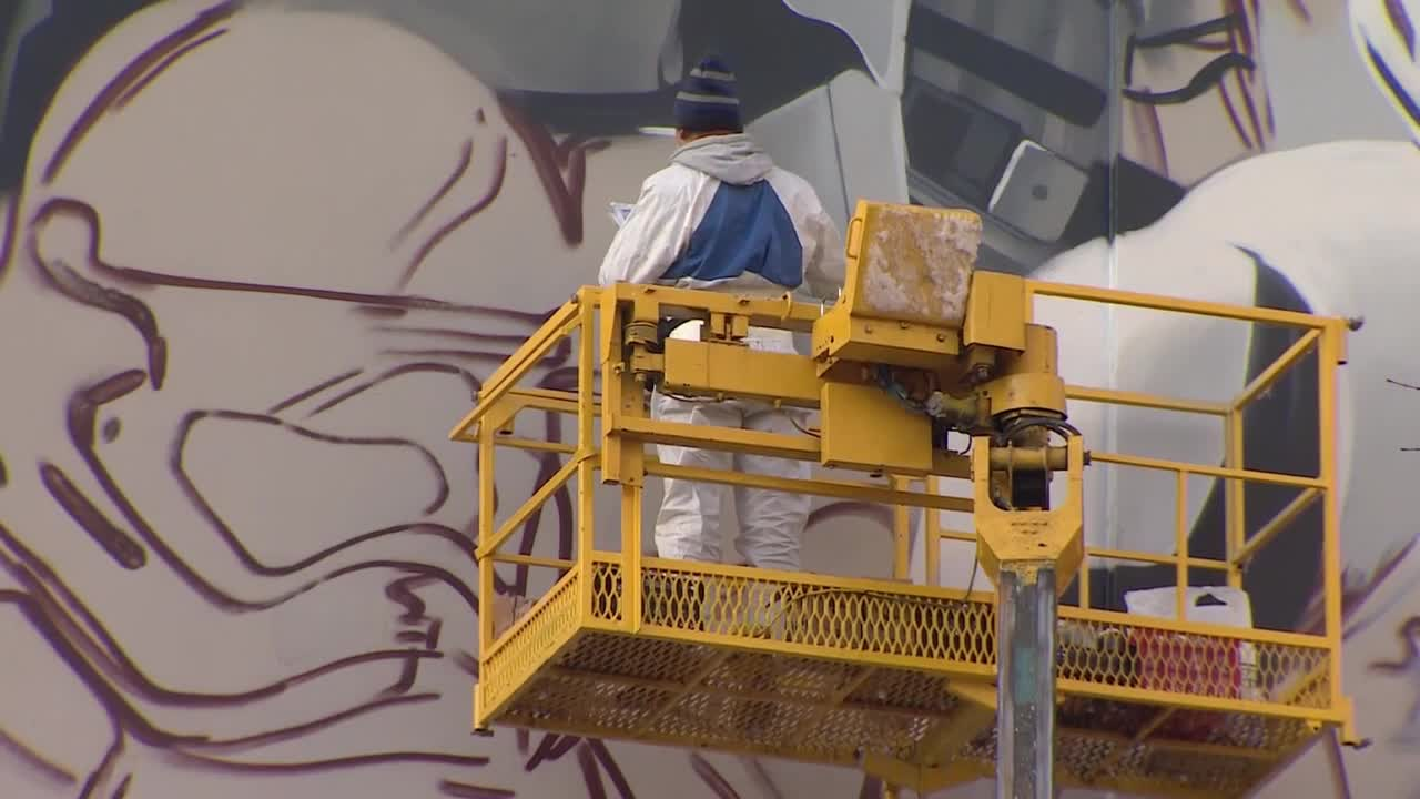 Russia: Giant Moscow Stormtroopers painted in homage to Star Wars