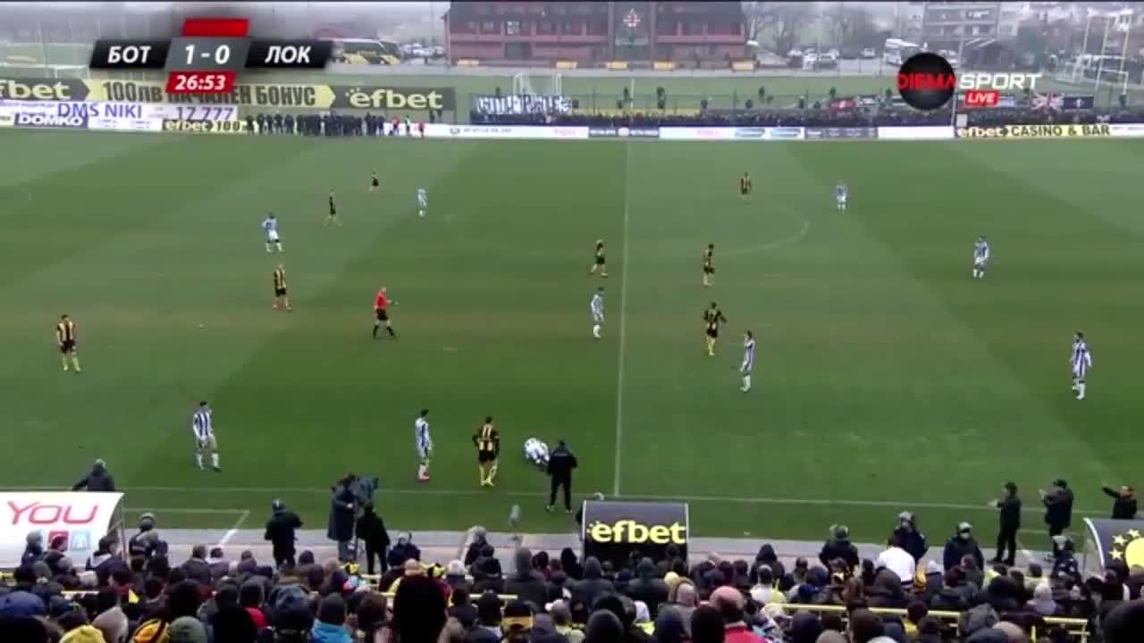 Ботев - Локомотив Пловдив 1:0 /А група, 21-ви кръг/