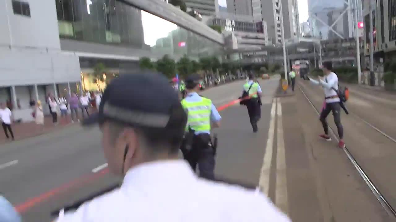 Hong Kong: Thousands flood Hong Kong streets protesting extradition bill