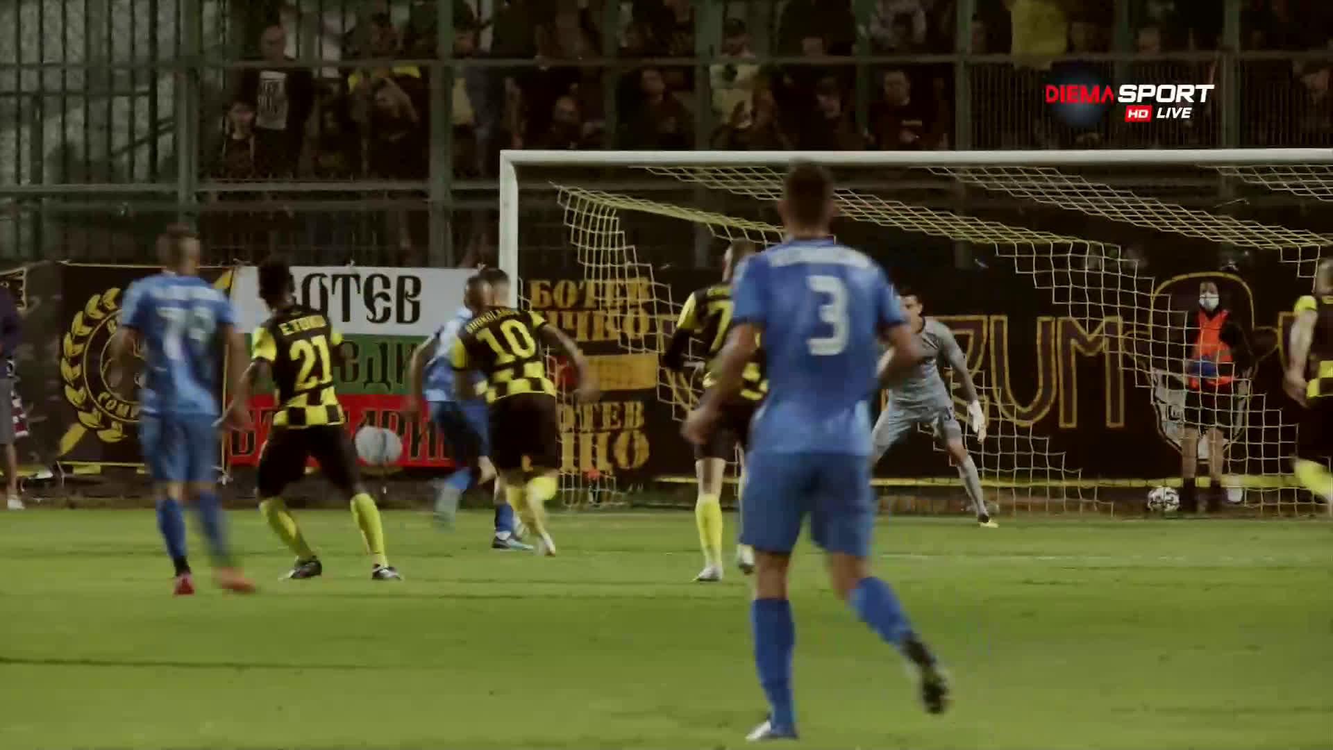 Ботев Пловдив - Левски 0:1 /първо полувреме/