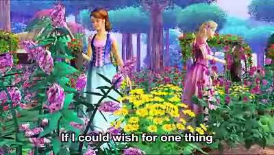 """Песен от """" Барби и диамантения замък"""" (караоке)"""