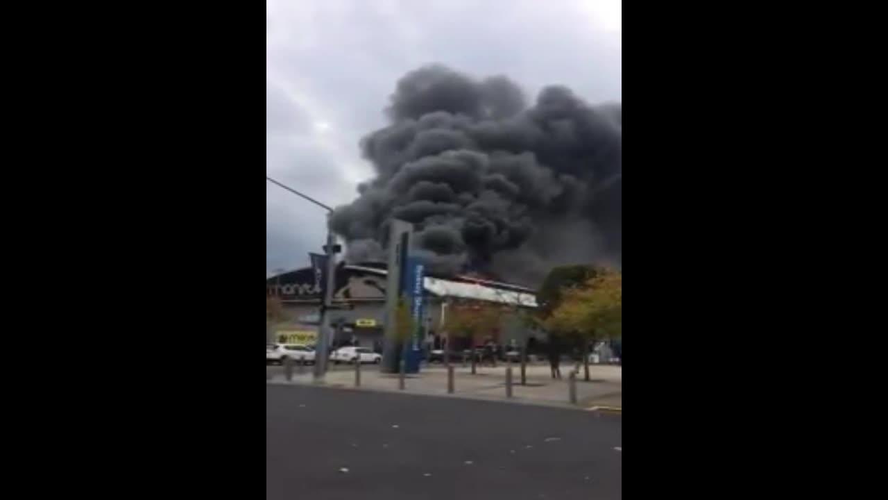 Australia: Huge fire breaks out at Sydney Olympic Park, man hospitalised
