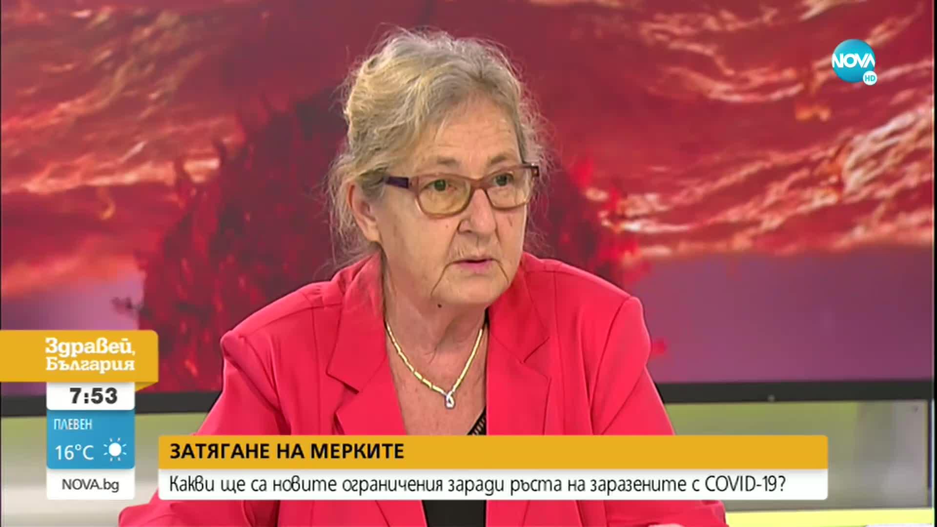 Проф. Кожухарова: Новите мерки не предвиждат затваряне на заведенията