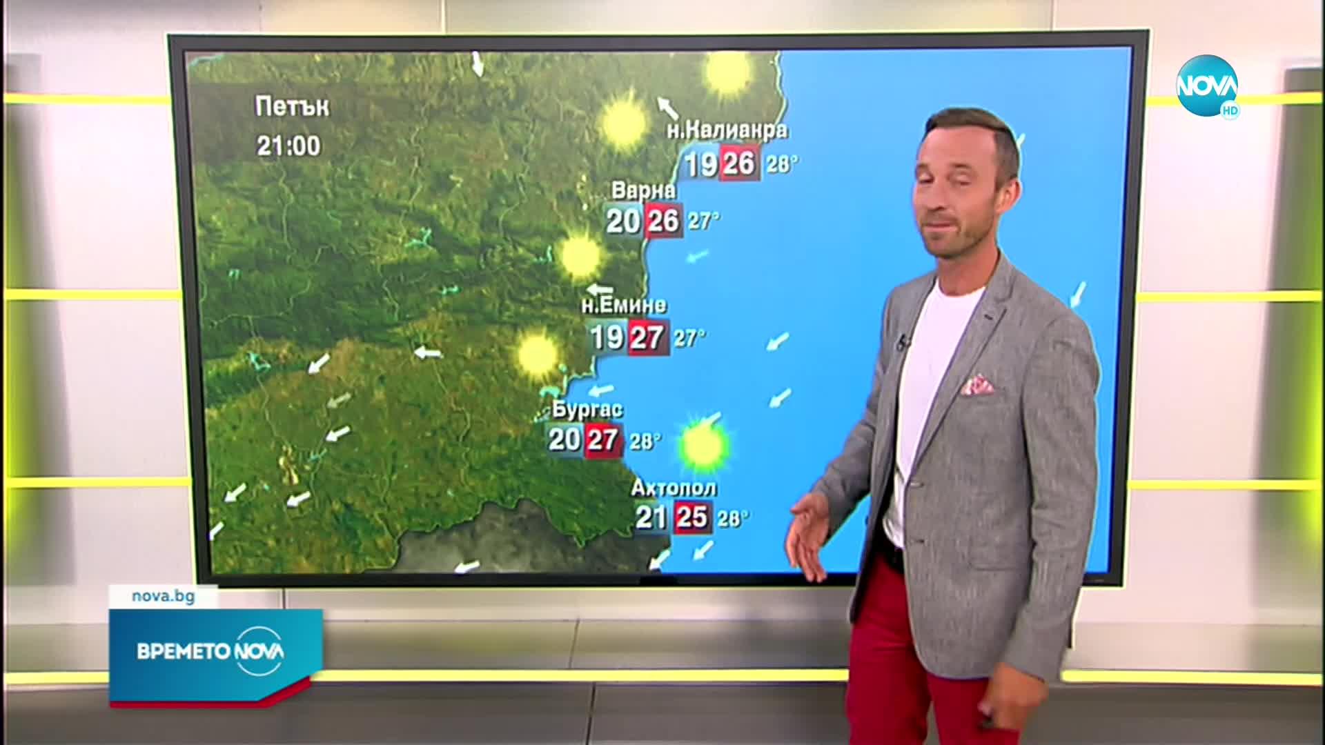 Прогноза за времето (23.07.2021 - сутрешна)