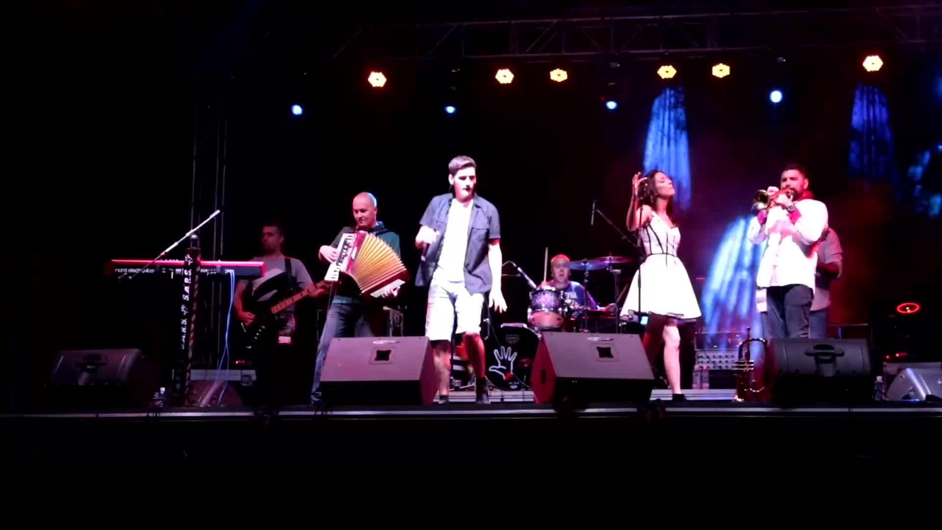 Любимците от Сърбия S.A.R.S. в сърцето на Пловдив