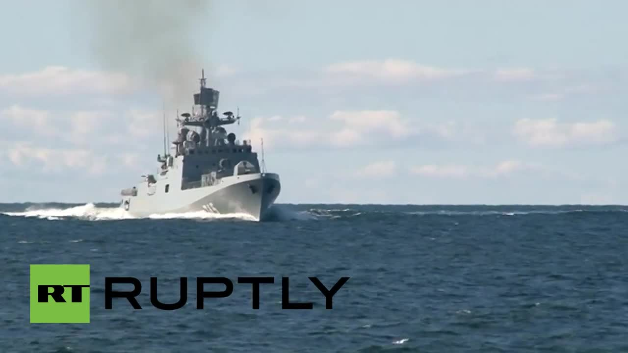 Russia: Baltic Fleet's latest addition unleashes missile barrage