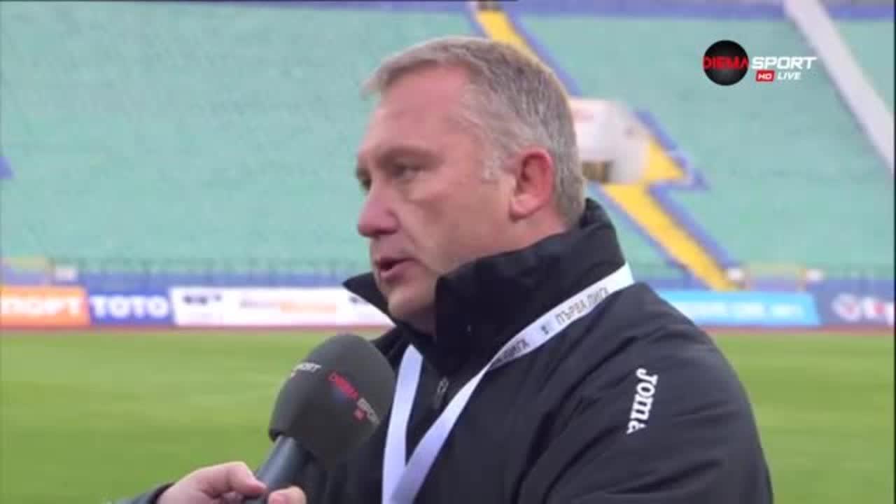 Киров: Ботев има два пътя към Европа, вярвам в отбора