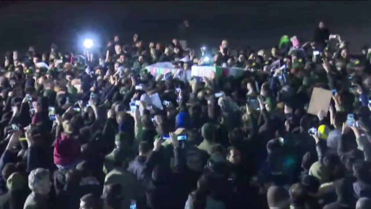 Iran: Soleimani's body arrives at Tehran airport