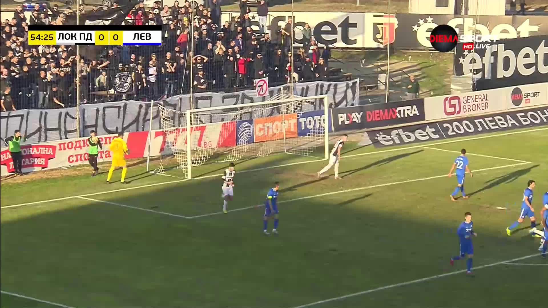 Локомотив Пд - Левски 0:0 /репортаж/