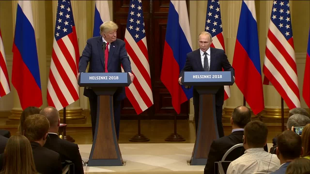 Finland: 'I wanted Trump to win' – Putin on 2016 election