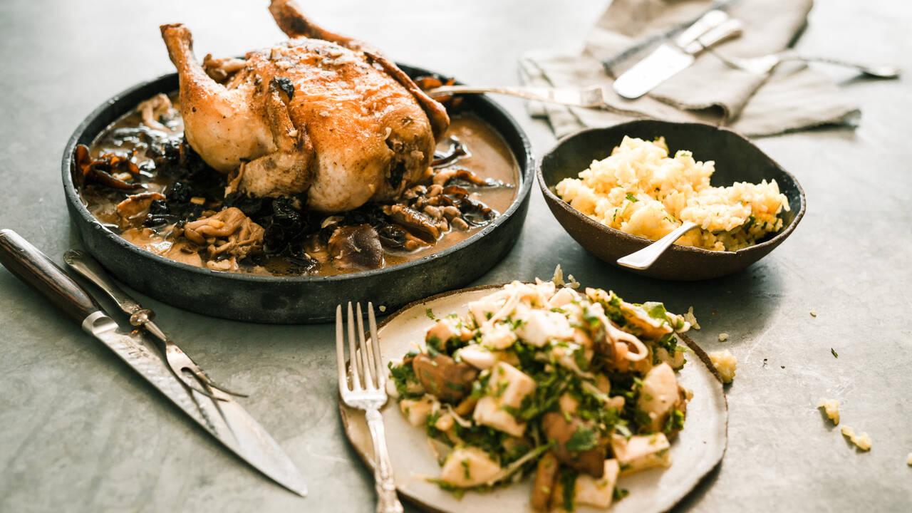 Печено пиле с паста мисо | Гай Търланд | 24Kitchen Bulgaria