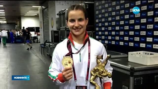 Злато за България на Европейското по борба