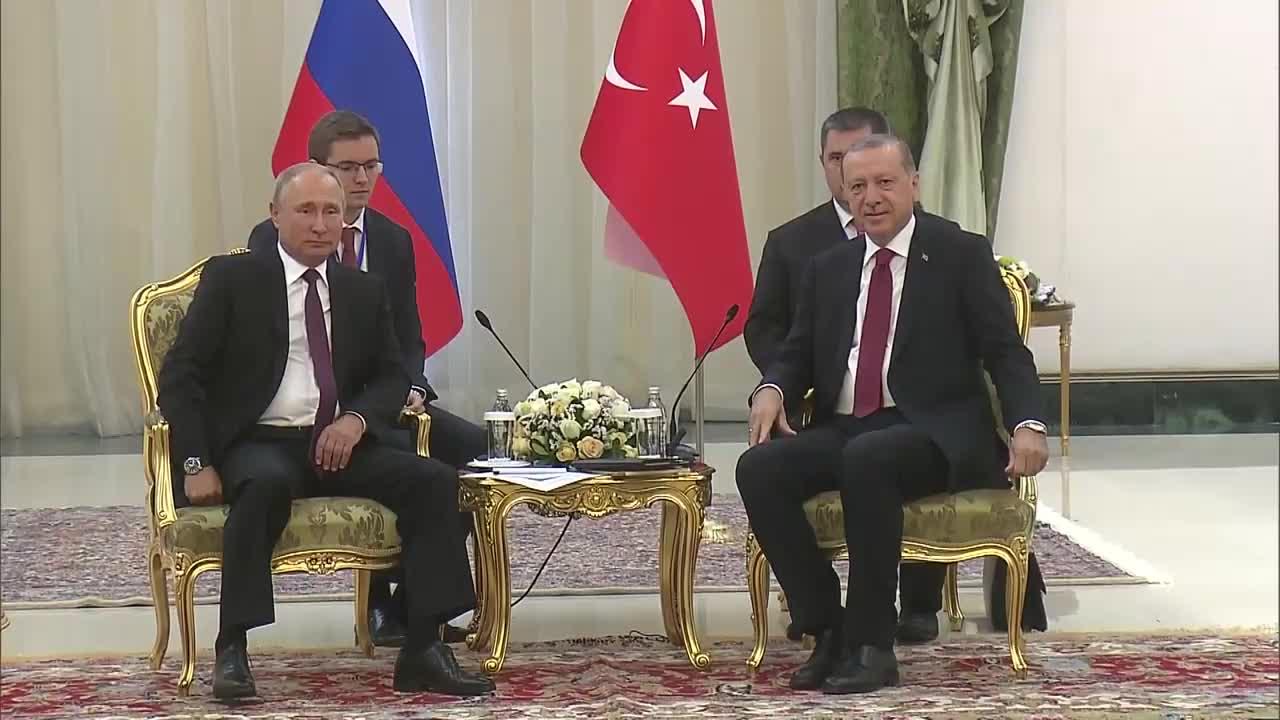 Iran: Putin meets Erdogan ahead of Syria talks with Rouhani