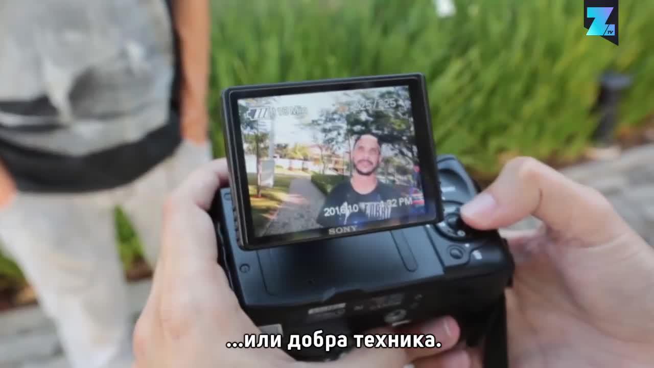Сляп фотограф успява да сбъдне мечтата си