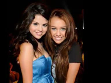 Selena Gomez And Miley Cyrus!