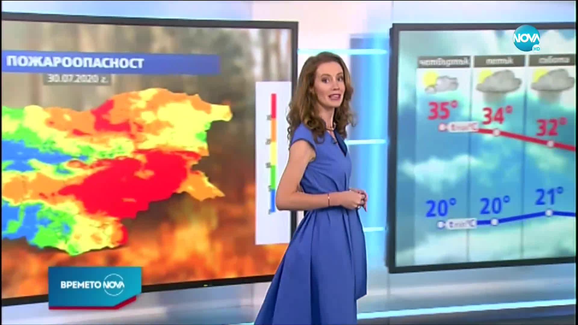 Прогноза за времето (29.07.2020 - централна емисия)