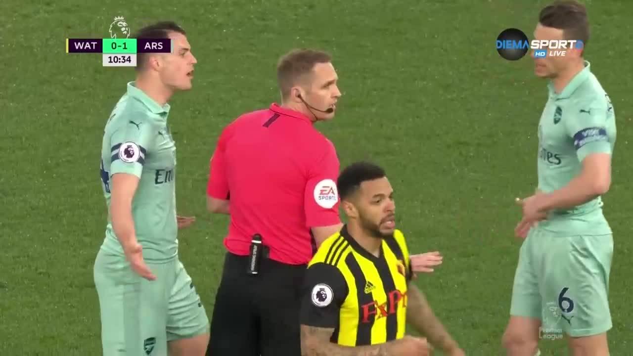 Уотфорд - Арсенал 0:1 /репортаж/