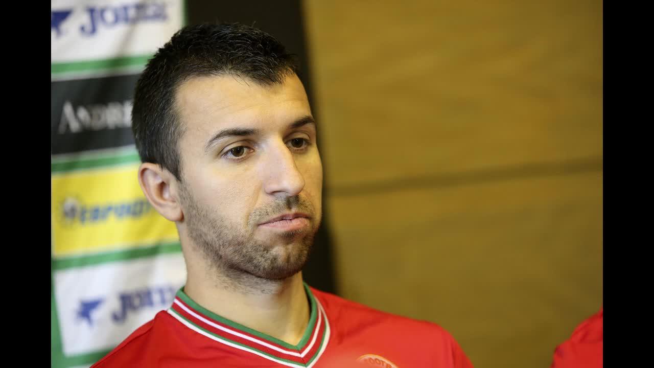 АУДИО: Светослав Дяков на заминаване за Малта преди мача
