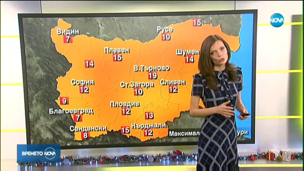 Прогноза за времето (18.12.2019 - сутрешна)