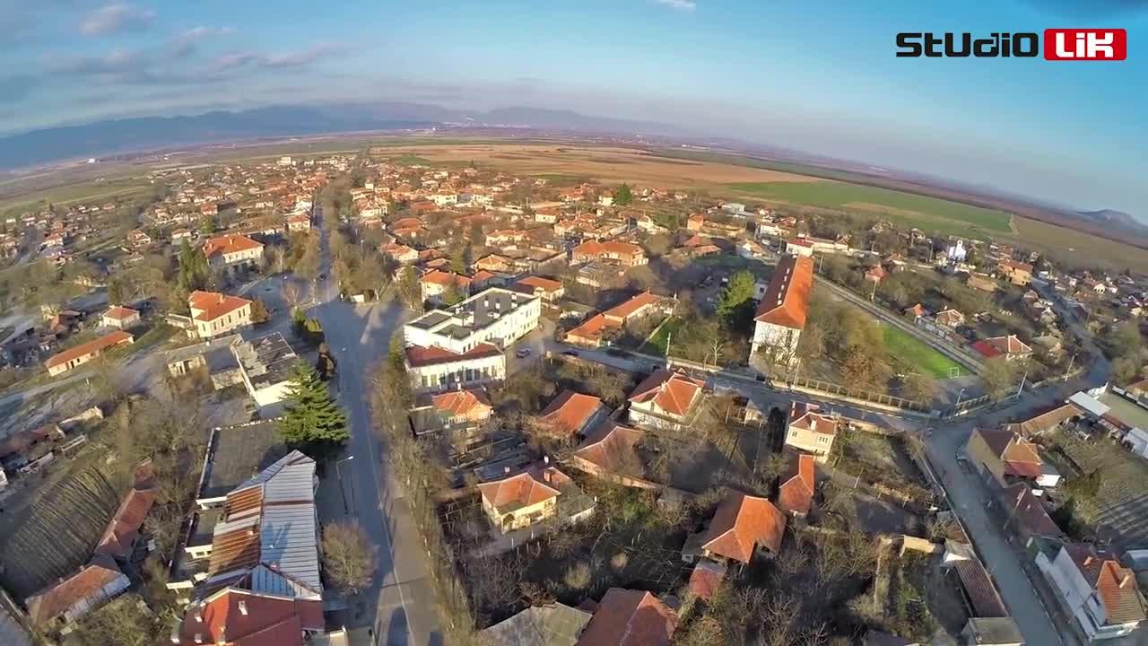 Село Ковачите видео с Дрон Studiolik