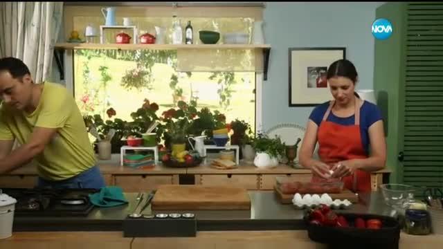 Яйца с домати на фурна - Бон Апети (04.08.2017)