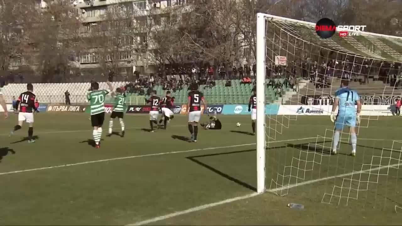 Черно море - Локомотив Пд - 2:0 /репортаж/
