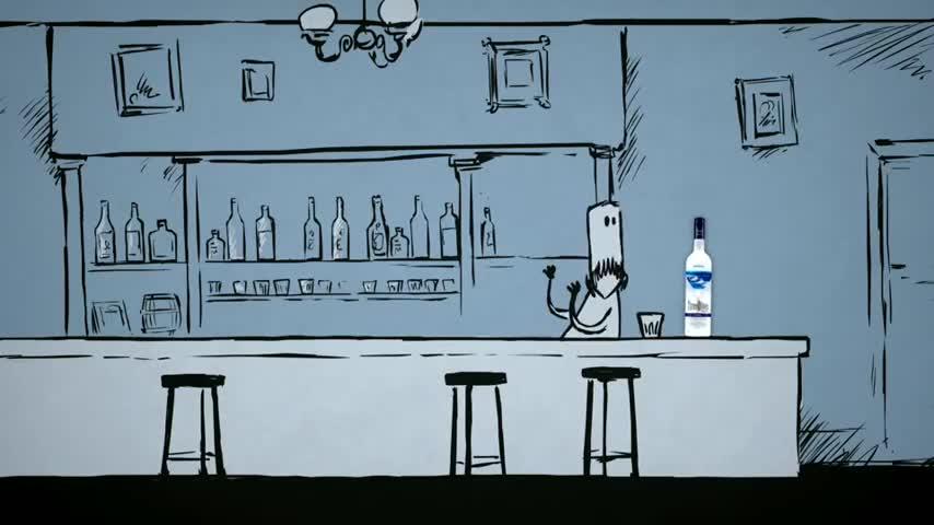 3 - ма каубои си поръчват водка * Смях *
