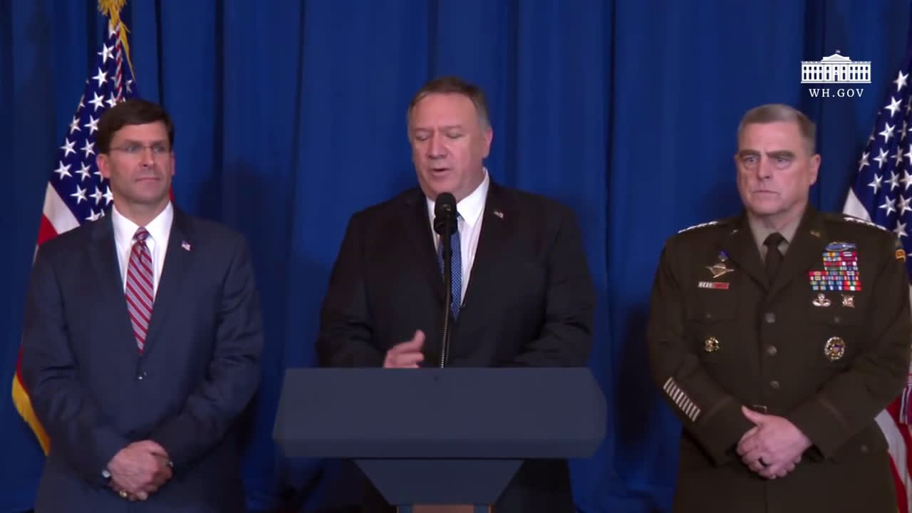 USA: Pompeo, Esper confirm airstrike on Iran-backed forces in Iraq