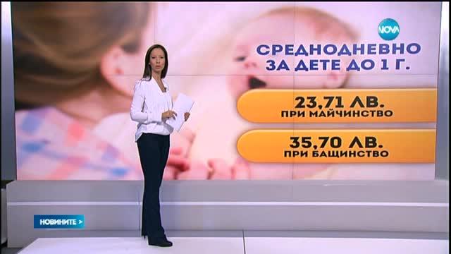 Майките - с по-високи доходи