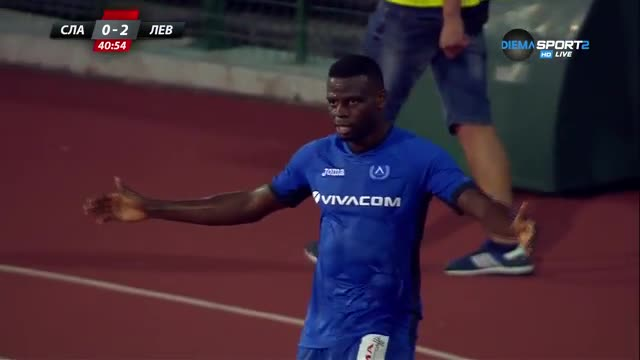 Бабатунде удвои преднината на Левски срещу Славия