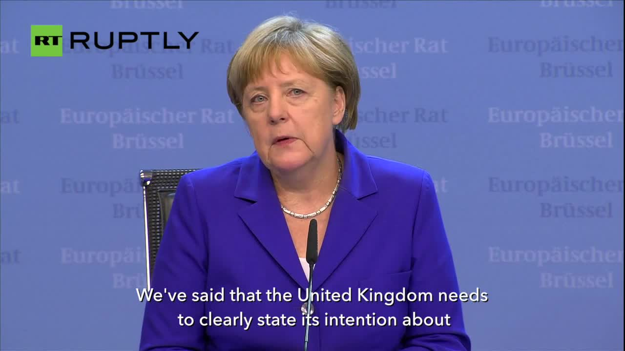No Access to EU Market for UK Without Freedom of Movement - Merkel