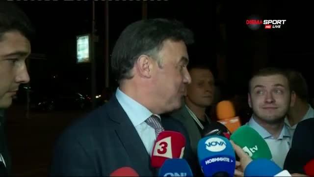 Боби Михайлов весел: Първи сме в групата! Имаме бъдеще