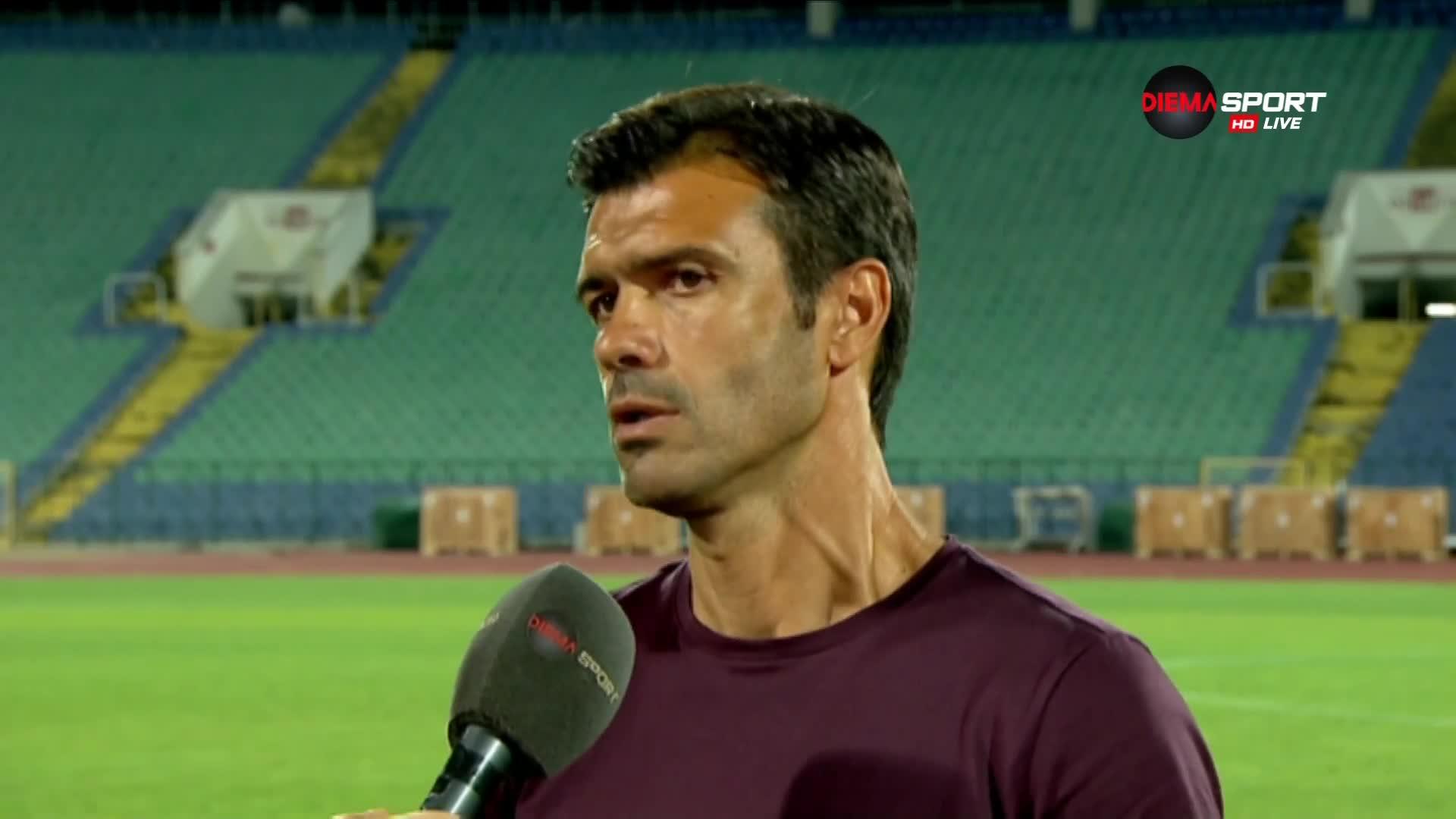Кирилов: Доволен съм от играта и резултата