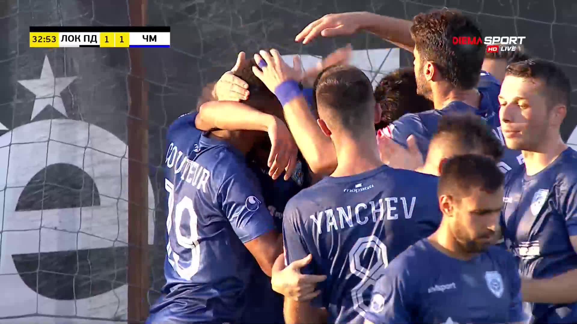 Локомотив Пд - Черно Море 2:1 /репортаж/