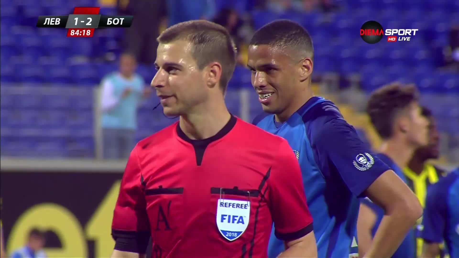 Ривалдиньо носи равенство на Левски срещу Ботев Пд