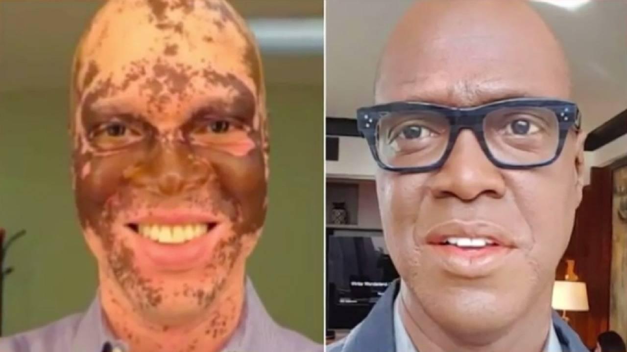 Реалната история на репортера, който боядисва всеки ден кожата си, за да запази работата си!