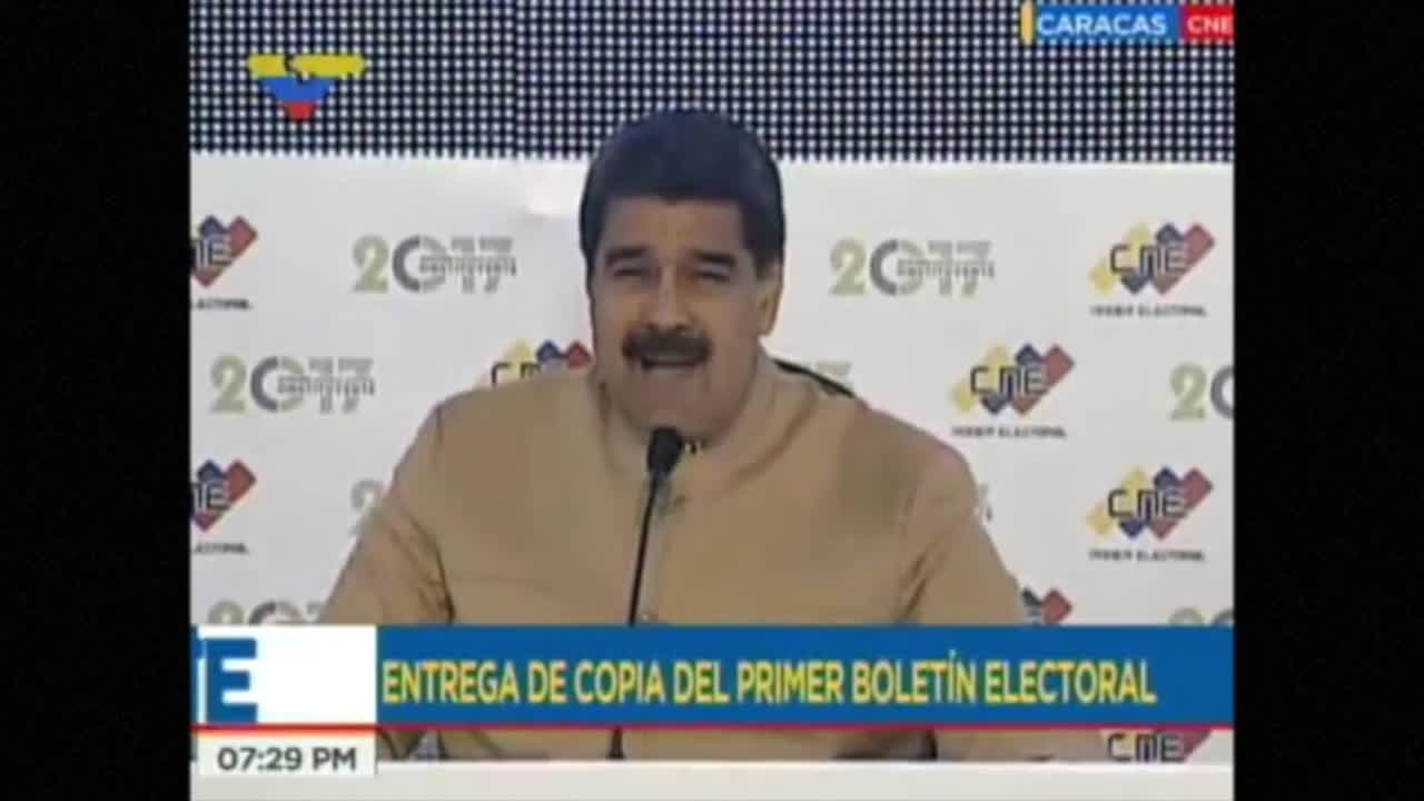 Venezuela: \'I do not obey imperial orders\'- President Maduro of Venezuela slams fresh US sanctions.