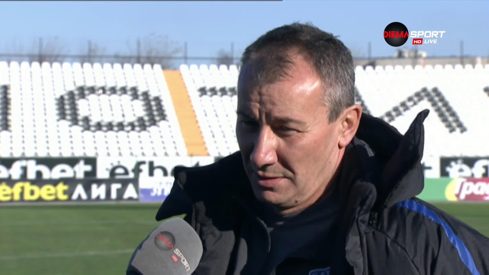 Белчев: Доволен съм от играта