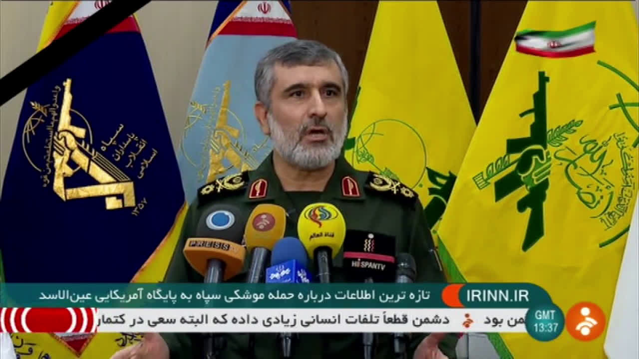 Iran: Tehran prepared \'hundreds of missiles\', warns US to leave the region
