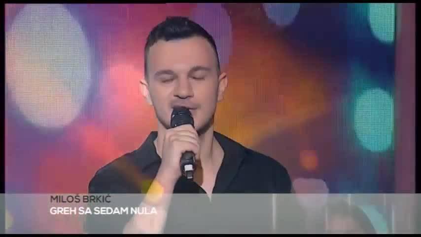 Milos Brkic - Greh sa sedam nula