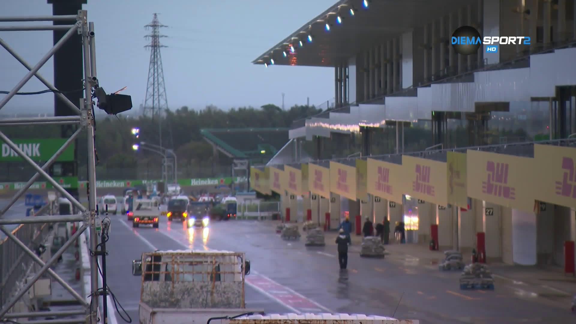 Пето отлагане на квалификация заради дъжд в модерната история на Ф1