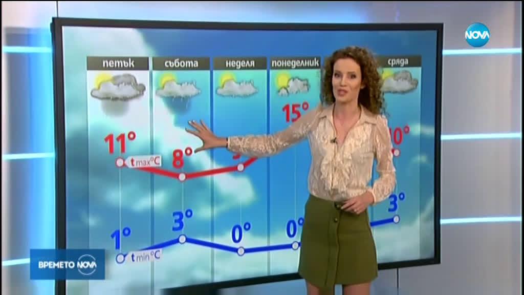 Прогноза за времето (13.02.2020 - централна емисия)