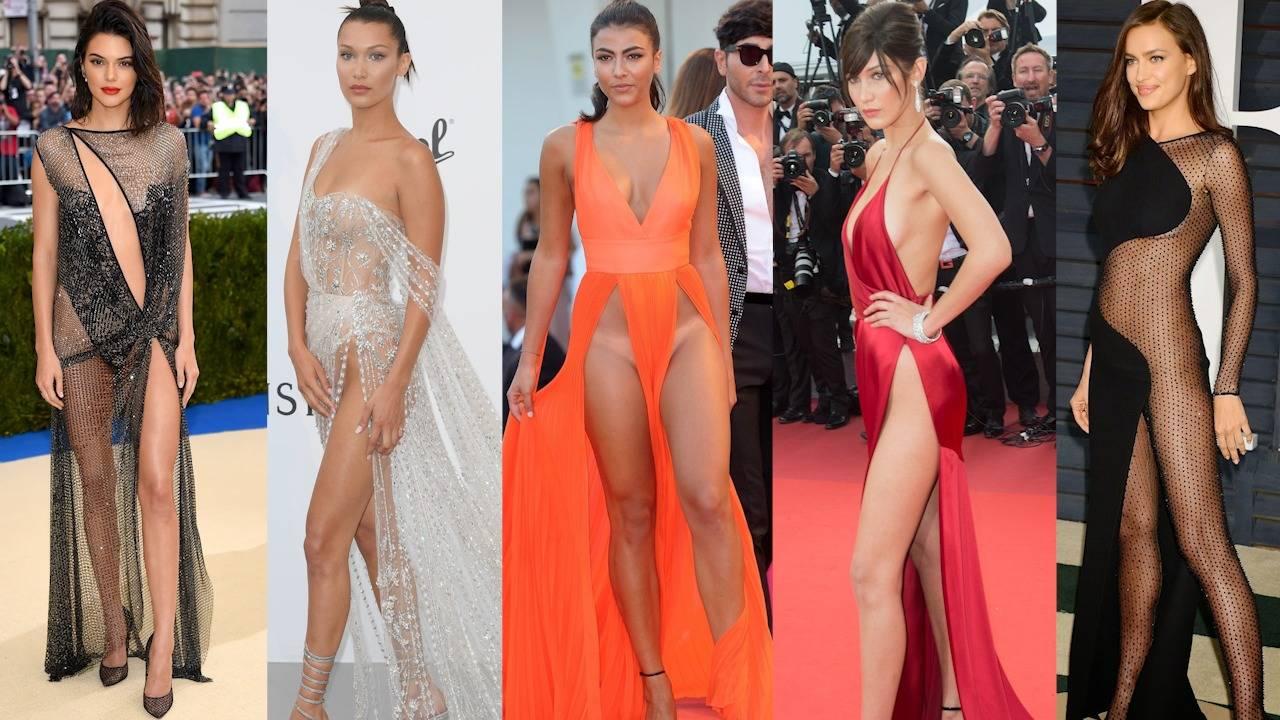 Скандално: Голите рокли на звездите, които изумиха света!