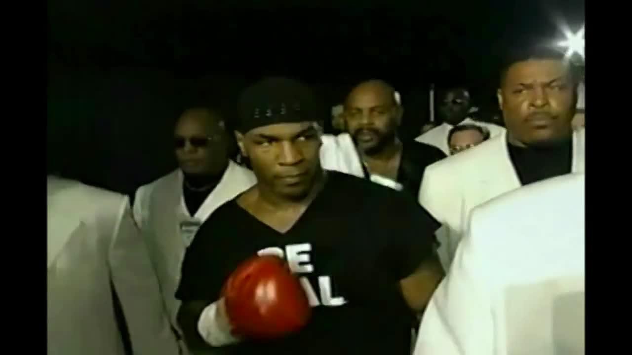 Mike Tyson Ring Entrance Dmx