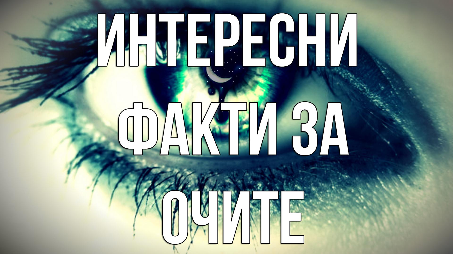 Факт : Интересни факти за човешкото око