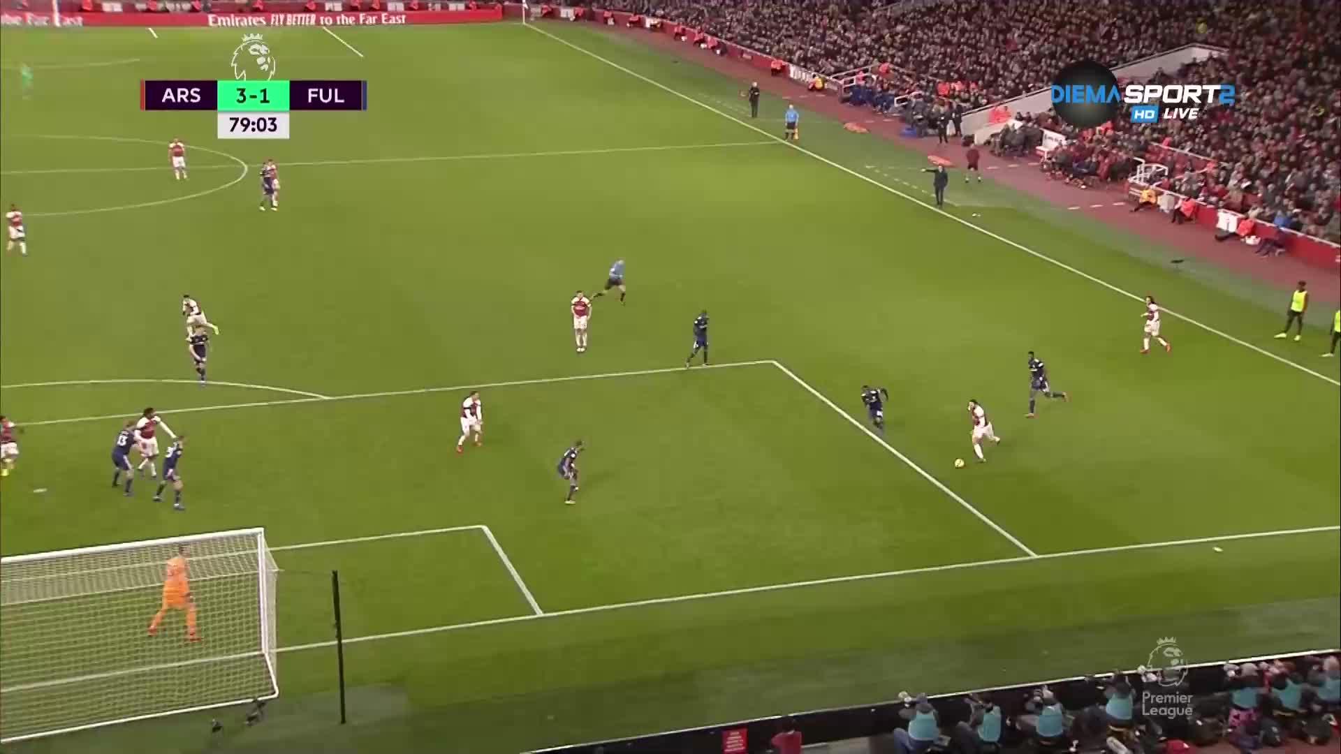 Арсенал си върна преднината от два гола