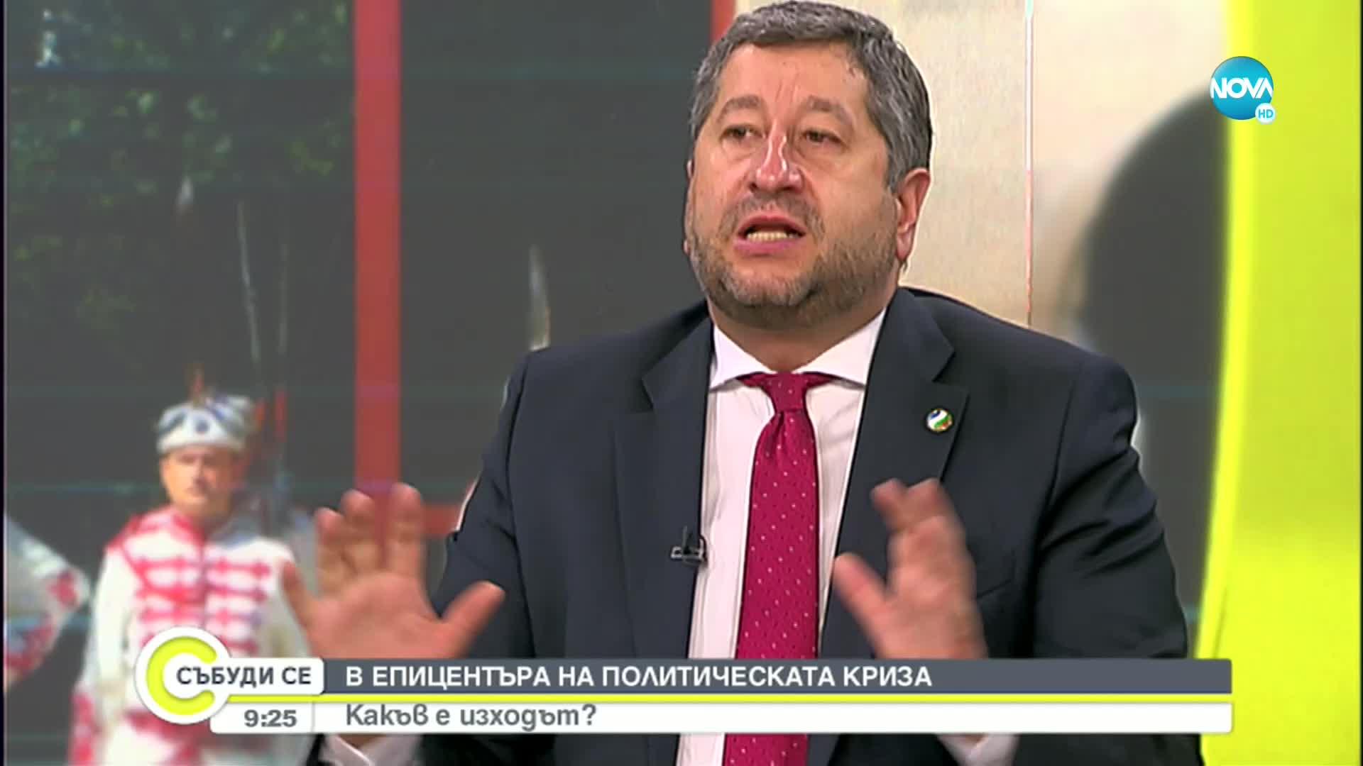 Иванов: Отидох при Трифонов, за да го призова да поправим грешките с третия мандат